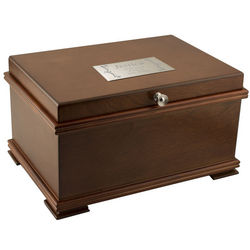 Personalized Classic Wooden Jewelry Chest