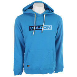 Electric Blue Volcom Pullover Hoodie