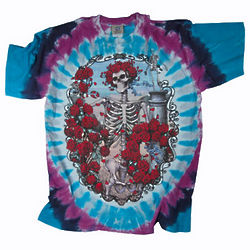 Grateful Dead 30th Anniversary Tie-Dye Tee