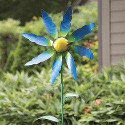 Handcrafted Wildflower Metal Wind Spinner