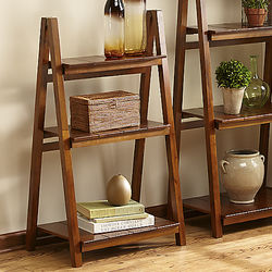 3-Tier Wooden Ladder Bookcase