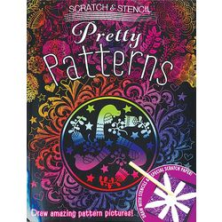 Scratch and Stencil Pretty Patterns Art Kit
