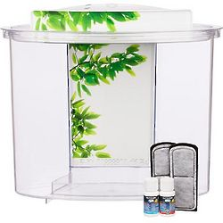View Oval Plastic Aquarium