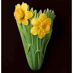 Jonquil Daffodil Wall Vase Pocket