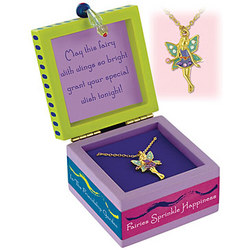 'Sparkling Friendship Fairy' in Keepsake Box
