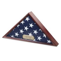 Mahogany Flag Box
