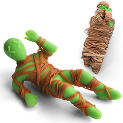 Mummy Mike Rubber Band Holder