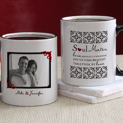 Soul Mates Personalized Photo Coffee Mug