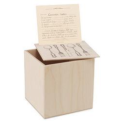 Recipe Box and Card Kit