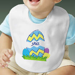 Personalized Baby Easter Egg Bib
