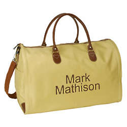 Personalized Convertible Garment Travel Bag