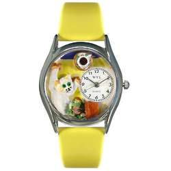 Bad Cat Watch with Yellow Band
