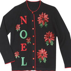 Noel Poinsetta Sweater