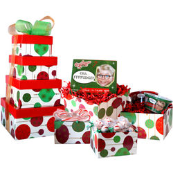 A Christmas Story Oh Fudge Holiday Gift Tower