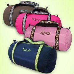 Junior Personalized Duffel Bag