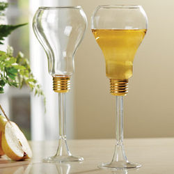 Lightbulb Wine Glasses