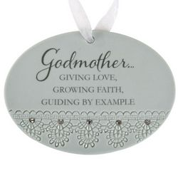 Godmother's Giving Love, Growing Faith Ornament
