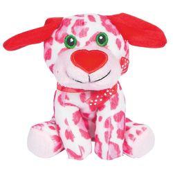 Plush Valentine Heart Dog Stuffed Animals