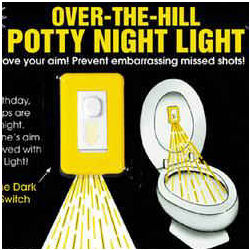Over the Hill Potty Night Light