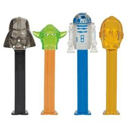 Star Wars Clone Wars Pez Dispensers
