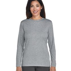 Women's Long-sleeve Cotton Bamboo T-Shirt