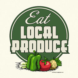 Eat Local Produce T-Shirt