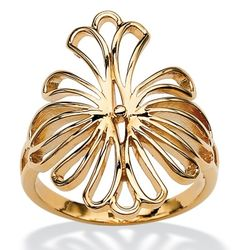 Gold Plated Tailored Women's Ring
