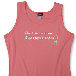Cocktails Now Women's Tank