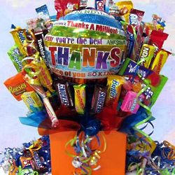 Expressions of Gratitude Candy Bouquet