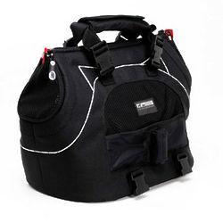 Black Motor Trend Universal Sport Bag Pet Carrier