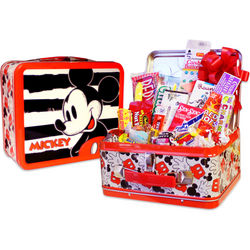Retro Mickey Mouse Nostalgic Candy Filled Tin