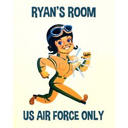 Personalized Fly Boy Print