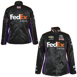 Women's NASCAR Denny Hamlin Replica Uniform Jacket