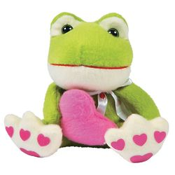 Plush Valentine Heart Frog Stuffed Animals