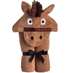 Brown Horse Hooded Towel