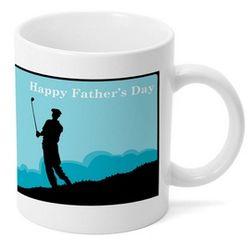 Fathers Day Golf Mug