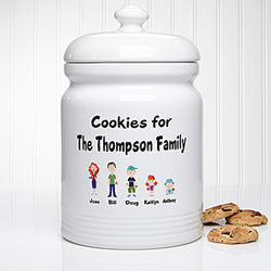 Character Collection Personalized Cookie Jar