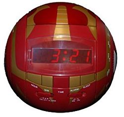 Bakugan Red Alarm Clock Radio