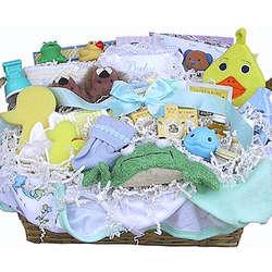 Everything Bathtime Baby Gift Basket