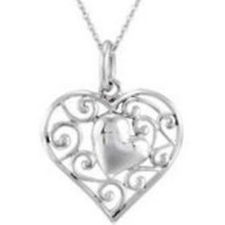 Adopted Child Heart Necklace