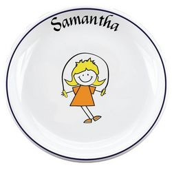 Personalized Kid's Activity Plate