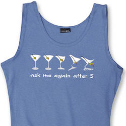 Ask Me Again After 5 Women's Tank