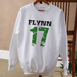 Seventeen Personalized St Patrick's Day Sweatshirt