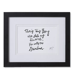 The Child Who Stole Your Heart Framed and Matted Print