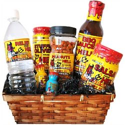 Hot Stuff from Hell Gourmet Gift Basket
