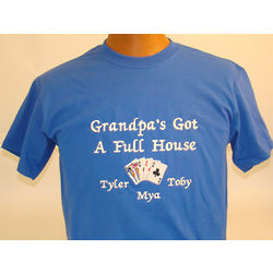 Full House Personalized Embroidered Shirt