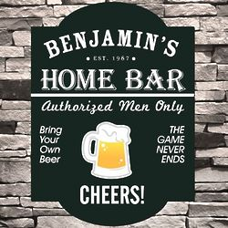 Classic Tavern Personalized Bar Sign