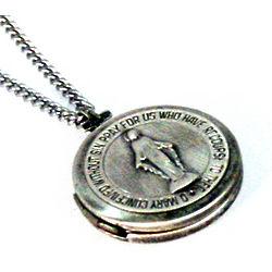 Sterling Silver Miraculous Medal Locket