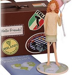 'Hello Friends' Deirdre Figurine