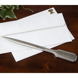 Personalized Silver Letter Opener